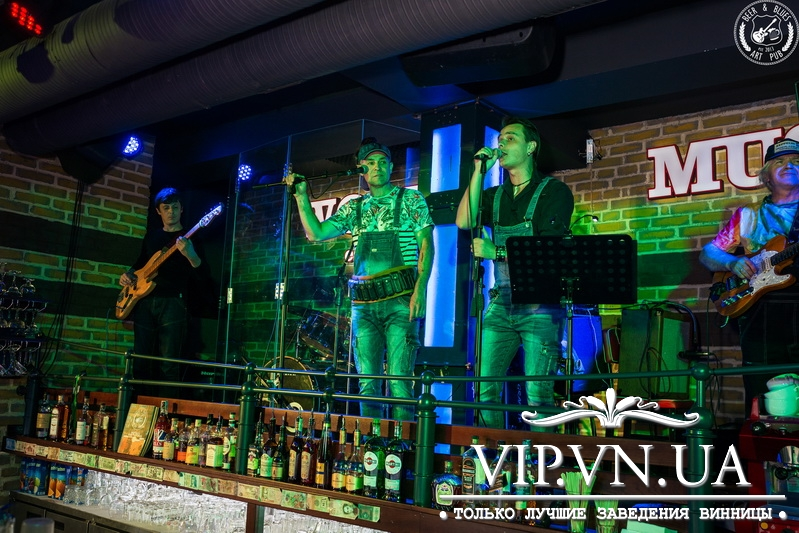 "Фотоотчет: 29.06.2018 Beer&Blues ""Graffiti music group"".. «Art Pub BEER&BLUES» -"